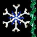 4' Snowflake