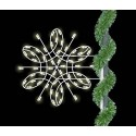 Deluxe Spiral Snowflake