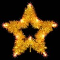 Yellow/Gold Star Tree Topper